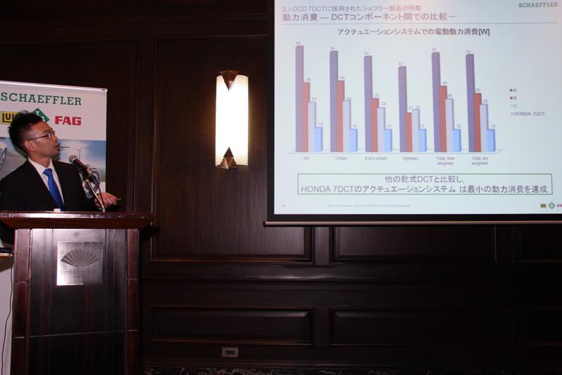 i-DCDは従来型のDCTと比較して電力消費が低く、ロスが少ないことも特徴となっている