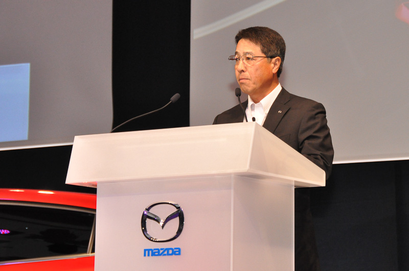 マツダ代表取締役 社長兼CEO 小飼雅道氏