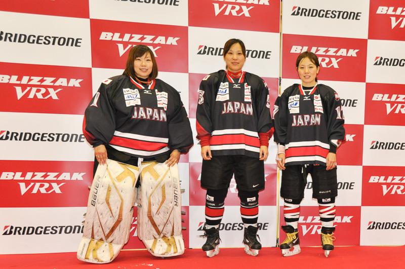 女子アイスホッケー日本代表チーム「スマイルジャパン」のメンバー