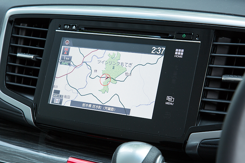 EXグレードはインターナビ+リンクアップフリー+ETC車載器を標準装備