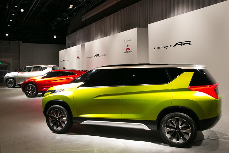 """""""三菱自動車らしさを最大限に表現できる""""という3台のコンセプトカーを出品"""