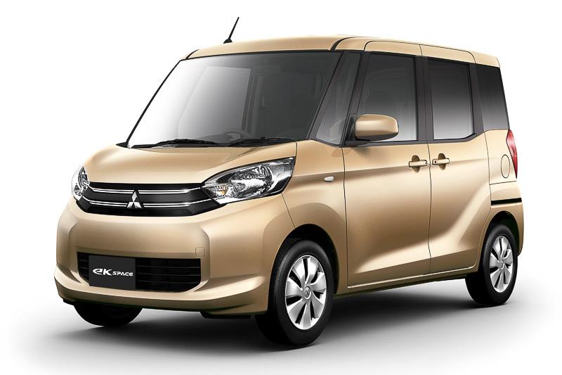 新型軽自動車の「eKスペース」「eKスペース カスタム」も世界初披露される