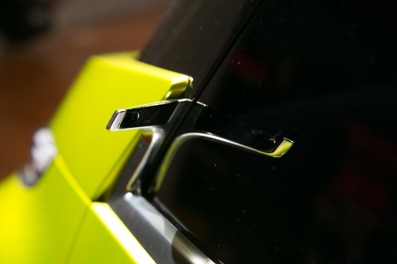 「MITSUBISHI Concept GC-PHEV」と同じようにドアミラー代わりのカメラをAピラー付け根部分に設置