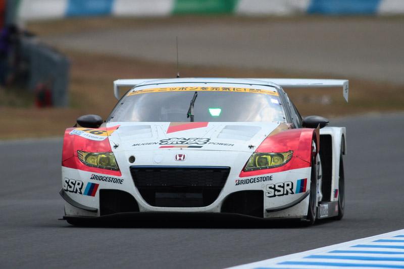 ハイブリッド車に初のチャンピオンをもたらした16号車 MUGEN CR-Z GT