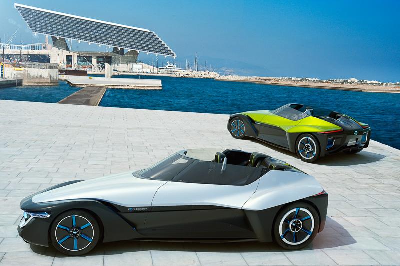 次世代EVコンセプトカー「ブレイドグライダー」