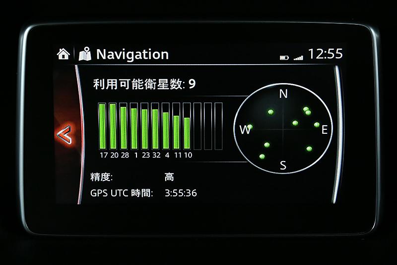 「GPS情報」表示