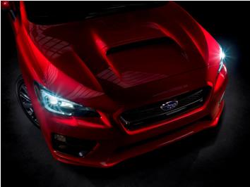 「スバルの走りを象徴するAWDパフォーマンスモデル」と位置づけられた新型「WRX」(米国仕様車)