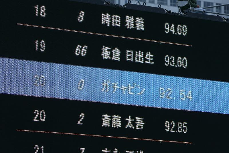 結果はなんと92.54ポイント