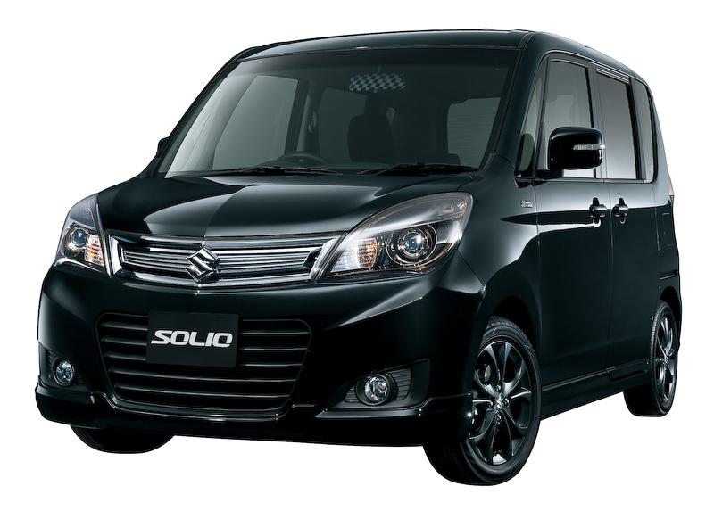 ソリオ 特別仕様車BLACK&WHITEII