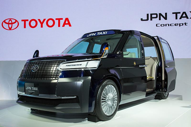 レトロなイメージのあるJPNタクシーコンセプト