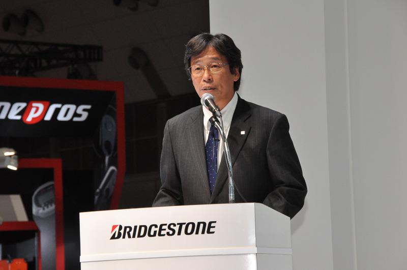 ブリヂストン取締役専務執行役員 森本芳之氏