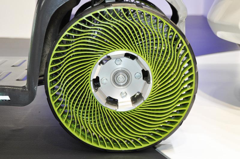 第1世代エアフリーコンセプト。前輪