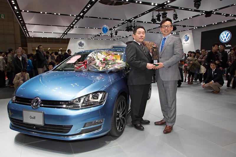 ゴルフが輸入車として初めて日本カー・オブ・ザ・イヤーに選ばれた