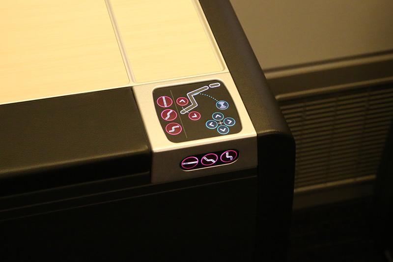 シートのコントロールボタン