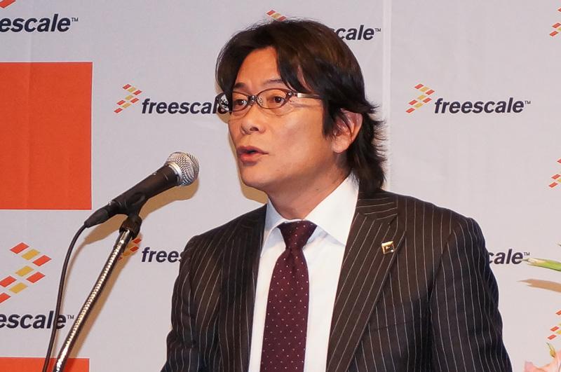 フリースケール・セミコンダクター・ジャパン 執行役員 第三事業部 事業部長 村井西伊氏