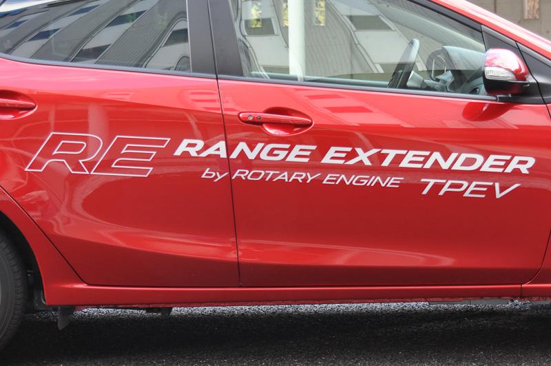 ボディーサイドには「RE RANGE EXTENDER」の文字が