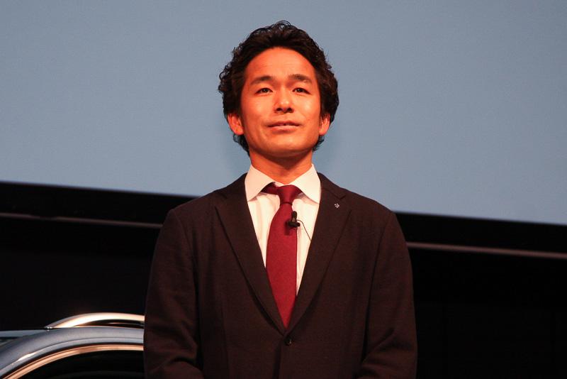 フォルクスワーゲン グループ ジャパン プロダクト・マーケティング担当部長の新道学氏