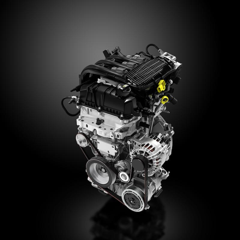直列3気筒1.2リッターエンジンは最高出力60kW(82PS)/5750rpm、最大トルク118Nm/2750rpmを発生