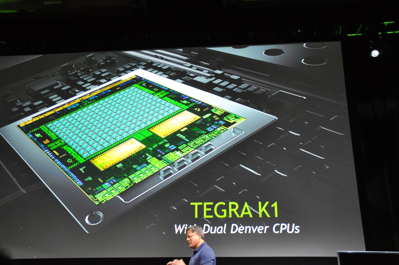 デュアルコアバージョンのTegra K1