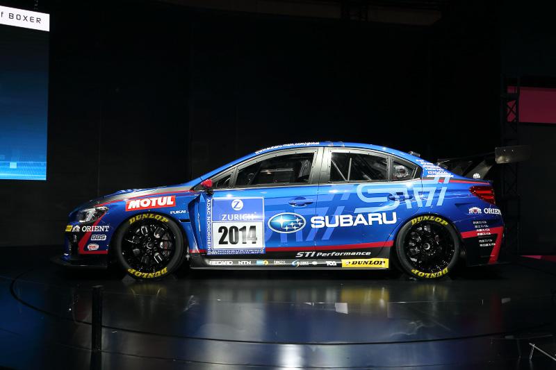 新型WRX STIベースのニュル24時間レース参戦車両