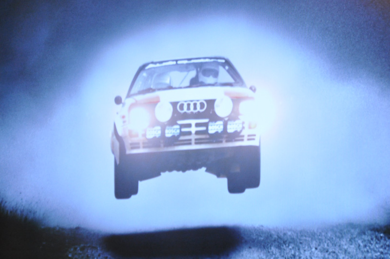 WRCの映像を使いながら、ライトに対する思いを説明