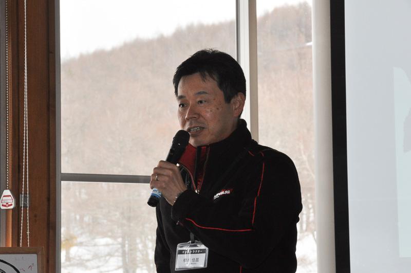 横浜ゴム タイヤ第一設計部 設計第2グループ リーダー 橋本佳昌氏