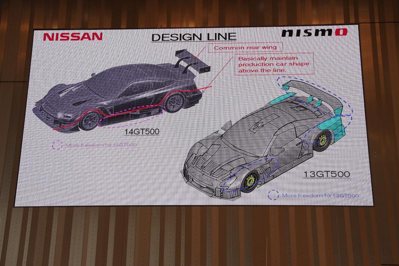 2014年モデル(左)と2013年モデル(右)でデザイン変更可能な部分の比較