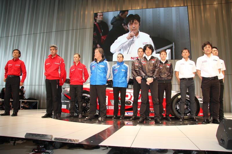 2014年シーズンも、昨年同様に4チーム8人のドライバーでSUPER GT GT500クラスに挑む