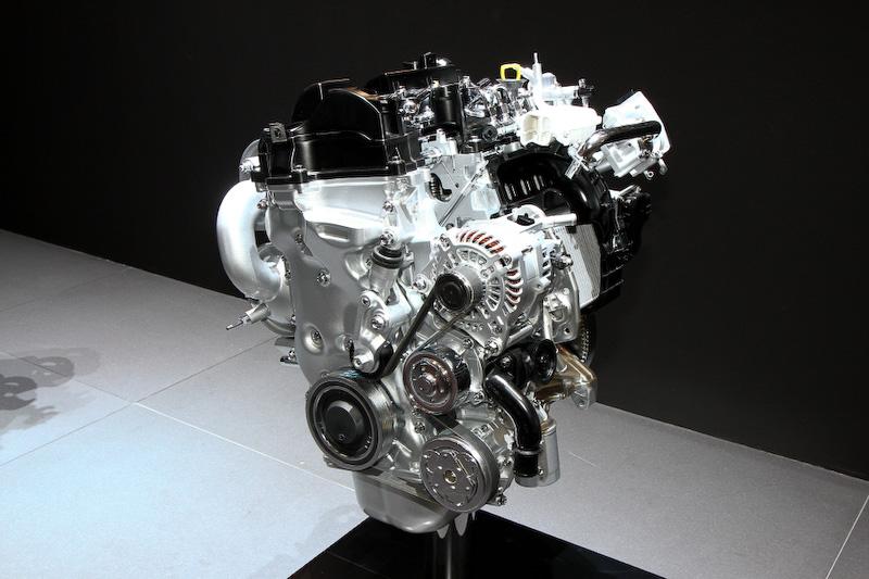 跳(HAZUMI)に搭載される直列4気筒1.5リッターディーゼルエンジンもワールドプレミア