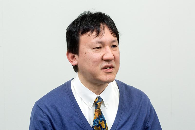 開発を担当する田中正志氏