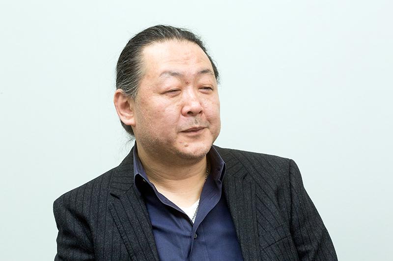 土方勲氏。 彩速ナビ全般の開発を指揮している