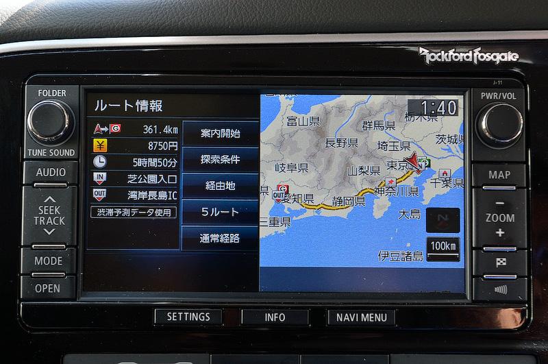 目的地であるなばなの里までの距離は361.4km。東名高速、新東名高速を使いつつ伊勢湾岸道 長島IC(インターチェンジ)で降りる算段。ちなみになばなの里では、3月31日まで「ウインターイルミネーション」としてライトアップされた夜桜などを楽しむことができる。この期間の営業時間は22時まで。とはいっても、東京からエコランしながら時間内に目的地へ着くことができるのだろうか? 実に不安である(現地での撮影もあるし)