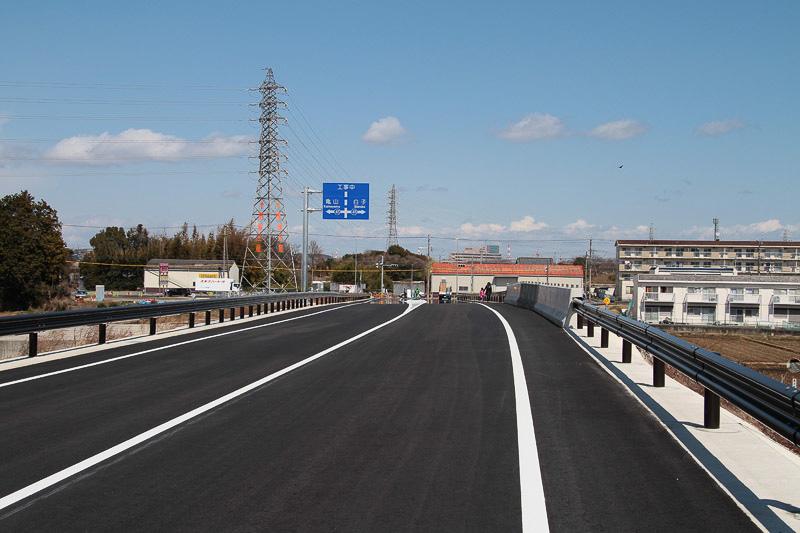 中勢バイパスから県道41号亀山鈴鹿線方向