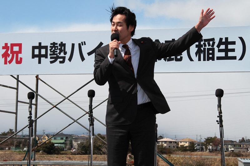 島田佳和議員は安倍政権になってから予定が前倒しにとなったことを紹介した