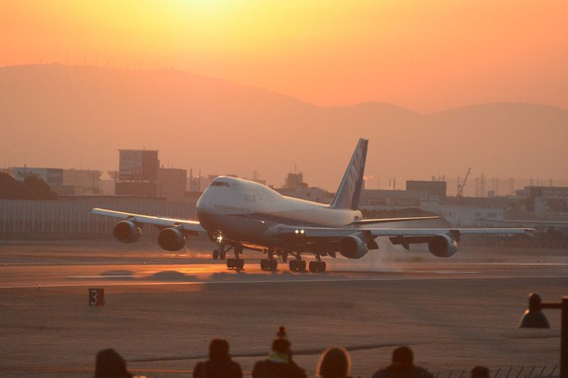 1月16日に行なわれた伊丹空港イベント