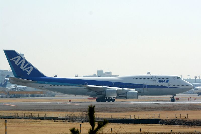 3月16日の熊本空港へのチャーターフライトは成田空港から出発した