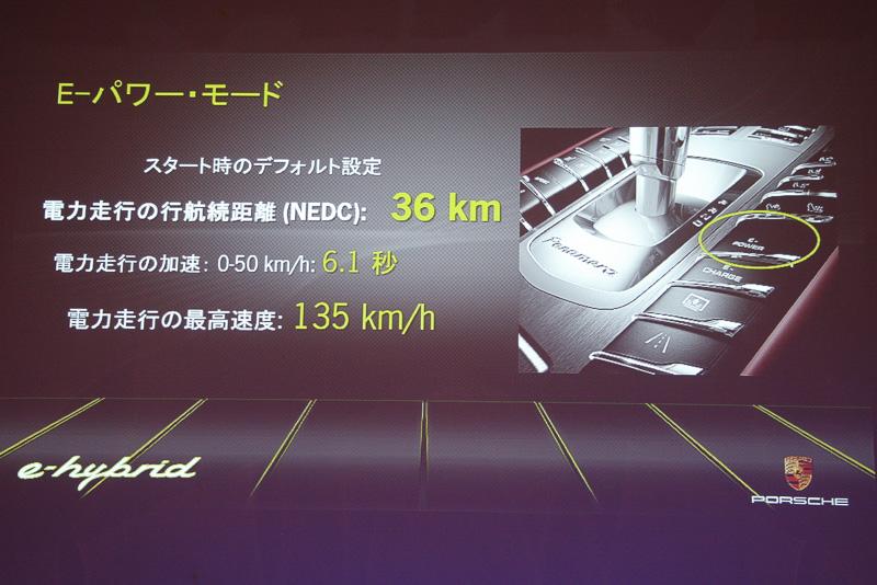 基本となるのは「E-パワーモード」。バッテリーの充電状態が十分ならエンジンを動かさずモーターのみで走行する