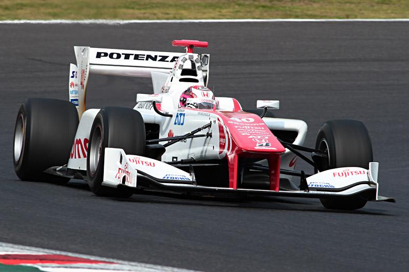 ホンダエンジン最速は野尻智紀選手。新人選手ながらホンダエンジン搭載でただ1人Q3に進出した。しかし、7位との差は大きく、決勝では厳しい戦いが予想される
