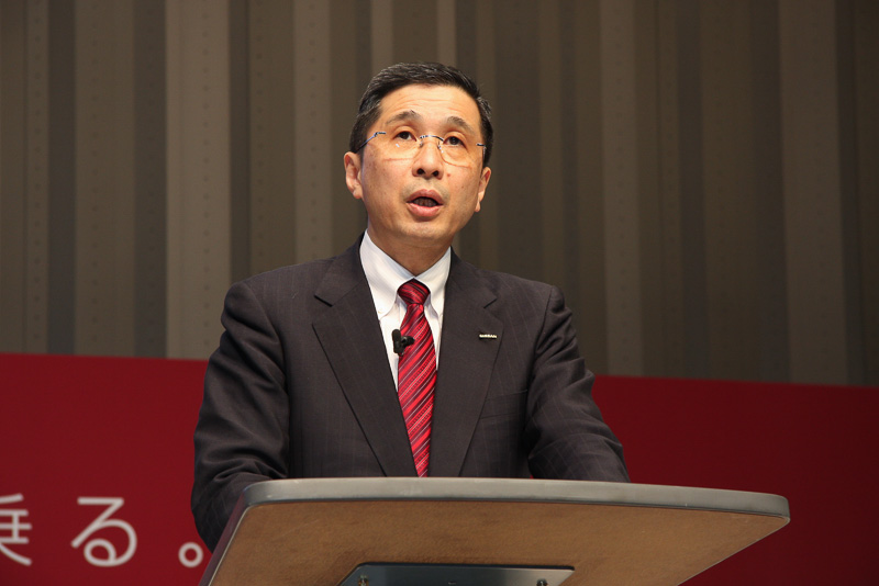 日産自動車 代表取締役副社長、チーフ コンペティティブ オフィサー 西川廣人氏