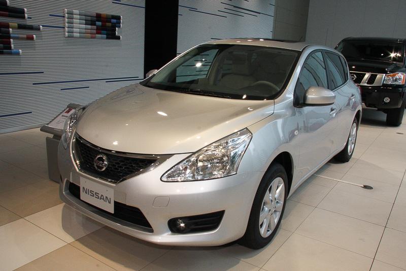 日本国内では絶版となっているティーダ 1.6T XVの2013年モデル