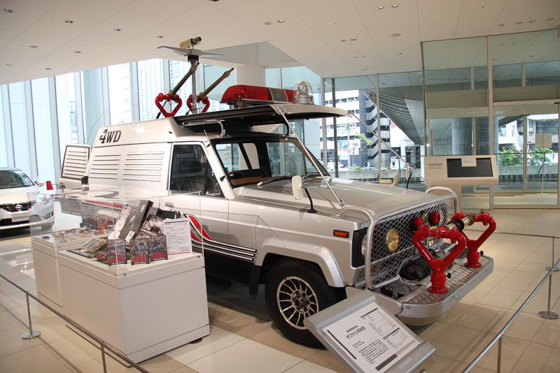 実際にテレビドラマで使用されたサファリ4WD