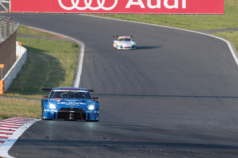 サバイバルレースを制し優勝した12号車 カルソニックIMPUL GT-R