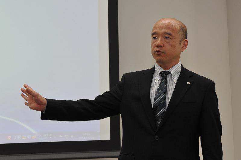 タイヤ研究本部長 坂野真人氏