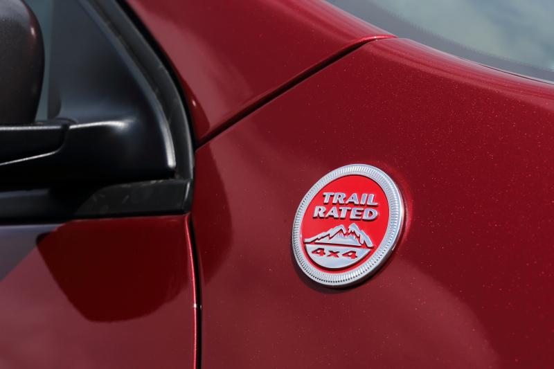 4WDでV型6気筒DOHC 3.2リッターエンジン搭載の「Trailhawk(トレイルホーク)」。価格は429万8400円