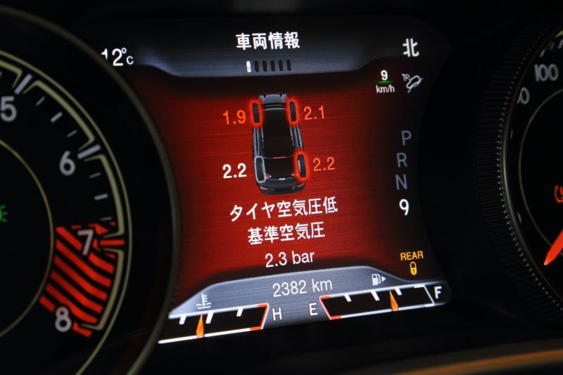 「タイヤプレッシャーモニタリングステム」は全車に標準装備