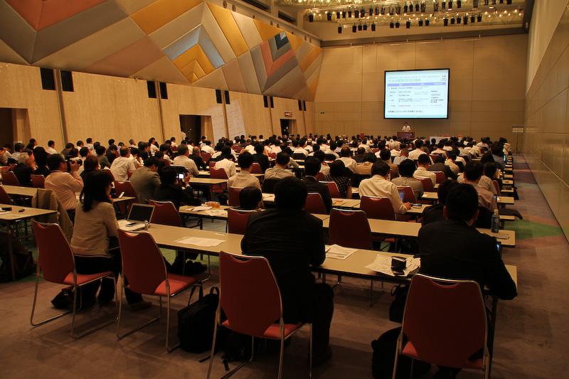 東京ビッグサイトで開催されたCHAdeMO協議会第4回総会