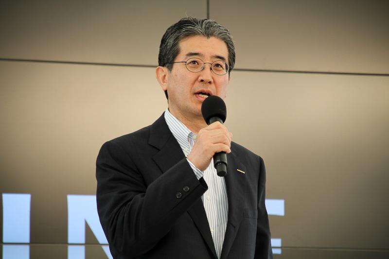 副社長 片桐隆夫氏