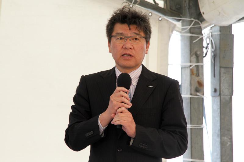インフィニティ事業本部 ものつくり・クオリティ本部 チーフ・ビークル・エンジニアの長谷川聡氏
