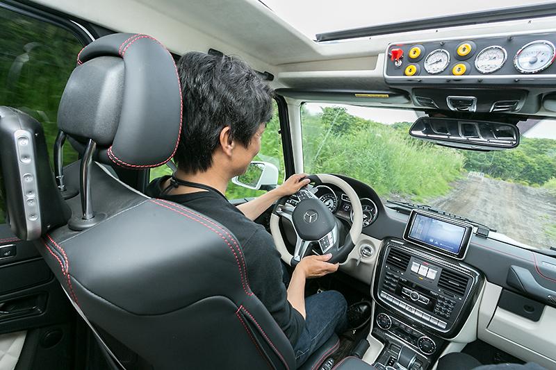 実際に運転すると、リアのトラクションが非常に高いことを感じられた
