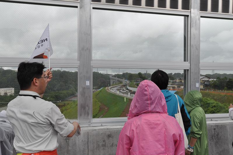 城山橋から新小倉橋を見る。運転中は見ることの難しい景色